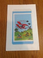 Antigua  1980 Disney Goofy flying a glider, Mickey Mouse Donald Duck