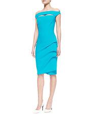 Chiara Boni Turquoise Dress