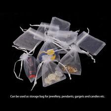 100pcs Organza Bags Jewellry Gift Pouch Wedding Favour Drawstring Mini Size