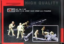 Hobby Fan 1/35 HF-708 WWII US Army Gun Crew (I) - 4 Figures