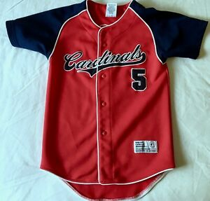 ST. LOUIS CARDINALS Youth Kids Medium ALBERT PUJOLS #5 Red Size: Medium M Jersey