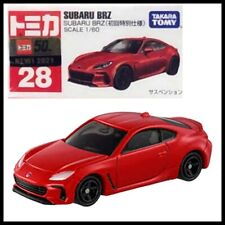 TOMICA 28 SUBARU BRZ 1/60 TOMY DIECAST CAR 2021 JUNE NEW MODEL First edition Red