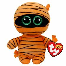TY HALLOWEEN BEANIE BABIES BOOS MASK MUMMY PLUSH SOFT TOY NEW WITH TAGS