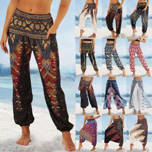 Harems Hose Hippie Aladin Pump Boho Baggy Goa Yoga Jumpsuit Männer Damen Herren
