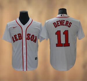 Rafael Devers #11 Boston Red Sox Men's Stitched Jersey Free Shipping