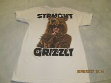 Straight Grizzly Workaholics Blake Anderson Men's T-Shirt Sz M Comedy Central