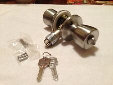 3 (THREE)  Mobile / Modular Home Entry ( EXTERIOR ) Door Locks Stainless Steel