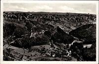 FREUDENSTADT Schwarzwald AK 1951 Panorama Totalansicht Gesamtansicht Postkarte