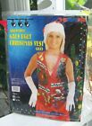 GALS UGLY CHRISTMAS VEST Sz L/XL Adjustable NEW Fun SHIPS FREE Silly Costume Top