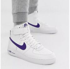 Nike Air Force 1 High '07 3 White/Court Purple AT4141-103 Size 13 UK Genuine Men