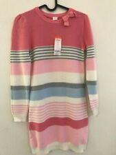 New cute & luxury Gymboree Fairytale pink striped sweater dress girl 12 ( 9-10y)