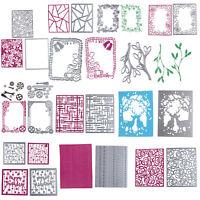 1*Cutting Dies Metal Stencil DIY Scrapbooking Album Photo Card Emboss Lace Craft