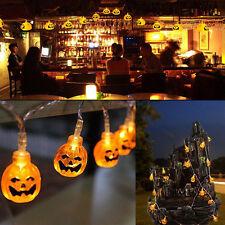 20 Pumpkins LED String Light Pumpkin Lights for Halloween Decoration Party Hot