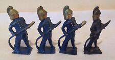 Antique Lead Firemen Figurines