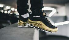 """Nike AIR MAX 97 QS TAGLIA UK 8 EUR 42.5 """"Oro Metallico"""""""