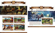 Horses Transport Animals Fauna Maldives MNH stamp set
