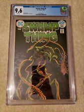 Swamp Thing 8 CGC 9.6 DC Comics, freshly graded
