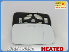 Wing Mirror Glass For BMW Series 3 E46 Coupe 1998-05 Wide Angle HEAT Right B015