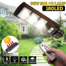 220000LM Commercial Solar Street Light LED Outdoor IP67 Dusk-to-Dawn Road Lamp