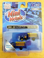 Mini Metals 50384 1954 Ford Bottle Truck (x2) DAD'S ROOT BEER 1:160 N Scale /600