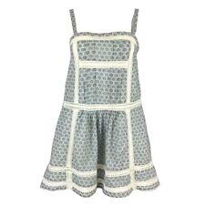 NOA NOA Indian Cotton Strappy Crochet Lace Panel Mini Dress XS