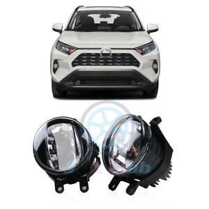 LED Driving Light Bumper OEM Fog Lamp h Housing Lamp For Toyota RAV4 2019-2021