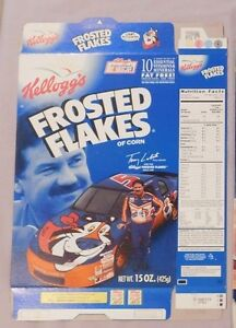 TERRY LABONTE  MONTE CARLO NASCAR KELLOGG'S FROSTED FLAKES CEREAL BOX