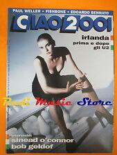 rivista CIAO 2001 42/1992 Sinead O'Connor Paul Weller Edoardo Bennato  No cd
