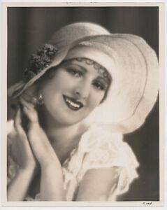 BILLIE DOVE 1927 Vintage DBLWT Hollywood Portrait by HAROLD DEAN CARSEY