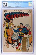Superman #42 - DC 1946 CGC 7.5
