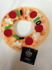 HYDE AND EEK! BOUTIQUE CAT PIZZA Costume Collar For Cats Neckwear One Size NEW