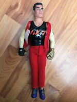 "CLASSIC 12"" HASBRO 1999 GI JOE ACTION MAN FIGURE RED OUTFIT"