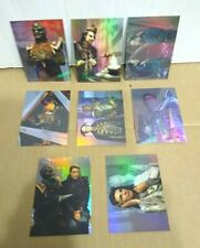 Star Trek Babylon 5 Prismatic Foil Complete Card Set 1-8 Fleer 1996