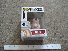 Funko Pop Star Wars 61 Bb.8 figure New in Box!