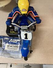 Tyco X-Treme Jeremy McGrath RC Dirt Bike Motorcycle + Controller.