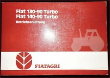 Fiatagri Schlepper 130 - 90 Turbo , 140 - 90 Turbo Betriebsanleitung