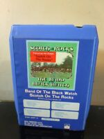 BAND OF THE BLACK WATCH SCOTCH ON THE ROCKS 8 TRACK TAPE~