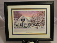 Thelma Winter Christmas Cardinals Print Signed Numbered Autographed Dated 81/500