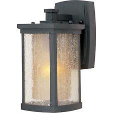 6c15dfd4764 Maxim Lighting Bungalow 1-Light Wall Lantern in Bronze - 3152CDWSBZ