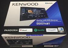 "KENWOOD DDX374BT 2-DIN 6.2"" Touchscreen EQ DVD Bluetooth USB Pandora Spotify New"