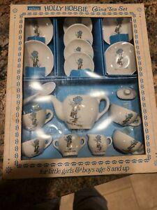 Chilton Toys 20 Pc. Holly Hobbie China Tea Set Sharing