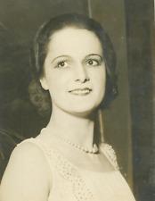 Yvette Larousse, miss France 1930 Vintage silver print Tirage argentique  13
