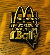 McDonald's 1994 Worldwide Convention Pin - Vintage Restaurant Las Vegas NV Bally