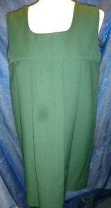 Vintage 1950s Green School Dress Gymslip