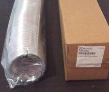 "NEW DRYER VENT PIPE 4"" X 8' Long plus 2 Clamps Semi-Rigid Aluminum Pipe In Box"