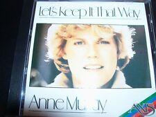 Anne Murray – Let's Keep It That Way (Australia) CD