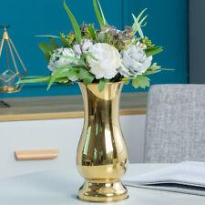 Large Stunning Silver gold  Luxury Flower Vase Urn Wedding Table Home  Decor new