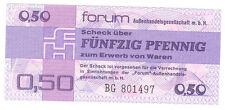 DDR 1979 50 Pfennig Forumscheck Nuovo Ro.367a