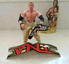 NWA TNA Christian Cage Belt & Entrance Gear Wrestling Action Figure Marvel Toys