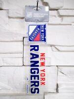 New York Rangers Aufkleber 23cm Logo Decal Badge Emblem NHL Eishockey